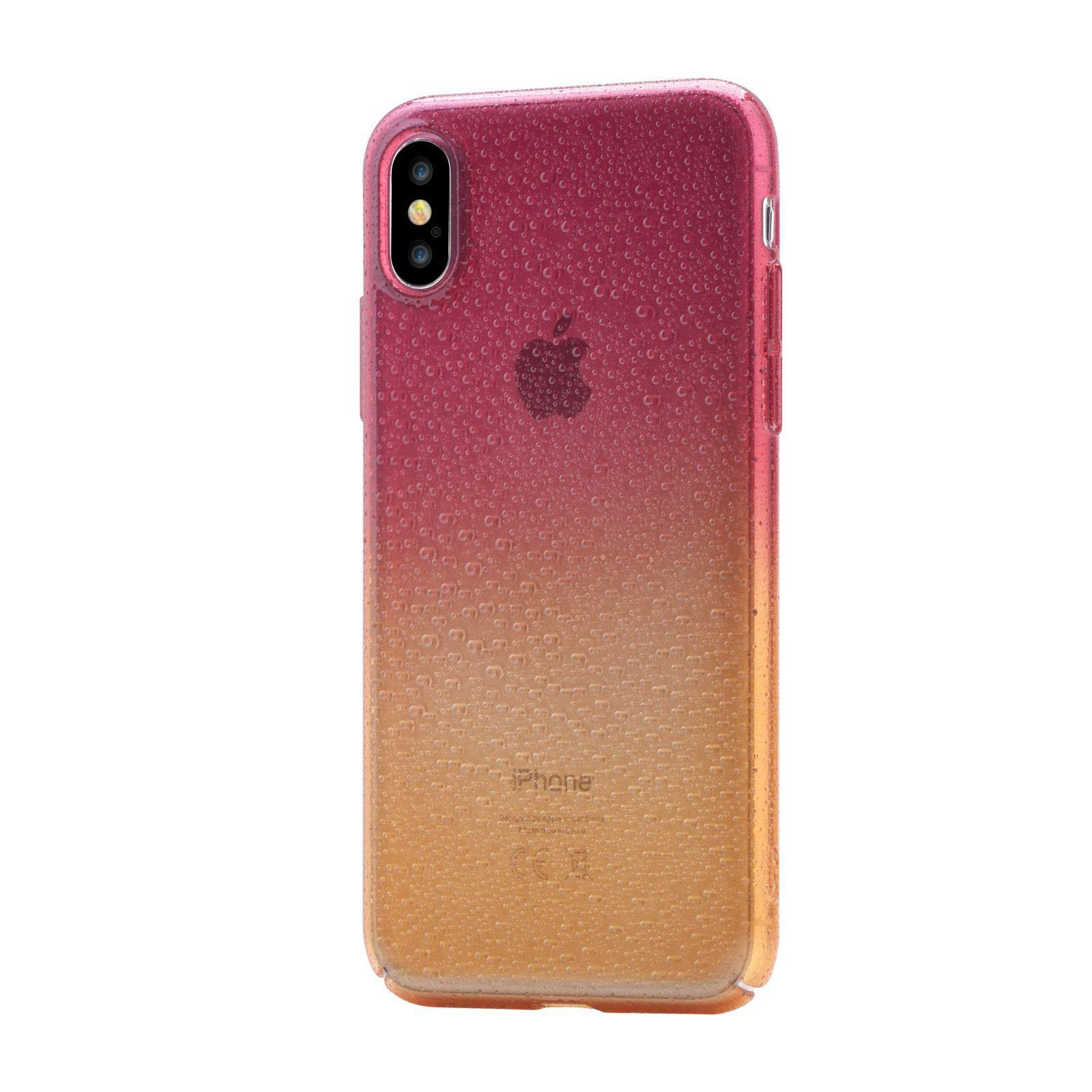 best authentic a8014 fb33f Devia Amber Case for iPhone X - Orange Red - Oribags.com