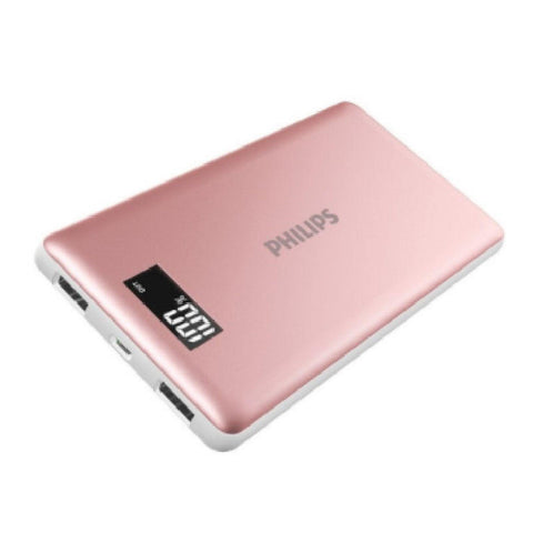Philips Powerbank 10000mAh W/ Display Screen DLP2109  - Rose Gold