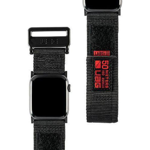 "UAG ACTIVE Watch Strap For Apple Watch 44""/42"" - Black"