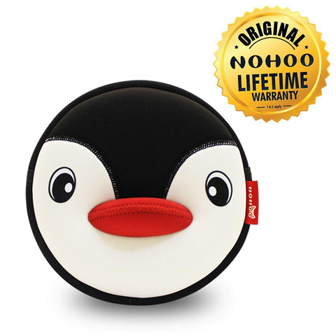 Nohoo Kids Sling Bag Penguin Design - Black