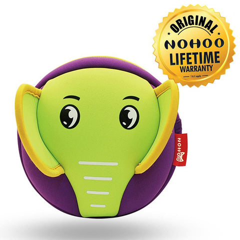 Nohoo Kids Sling Bag Elephant Design - Purple