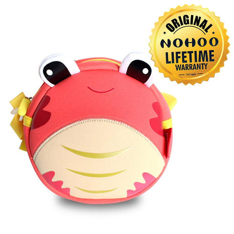 Nohoo Kids Sling Bag Crab Design - Red