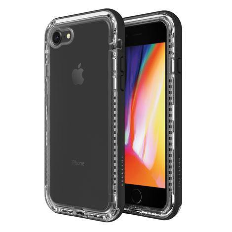 (Promo) LifeProof Next Case For iPhone SE (2nd gen) and iPhone 8/7 - Black Crystal