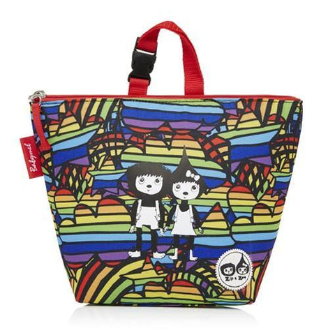 Babymel Lunch Bag + Ice Pack - Rainbow Multi Print