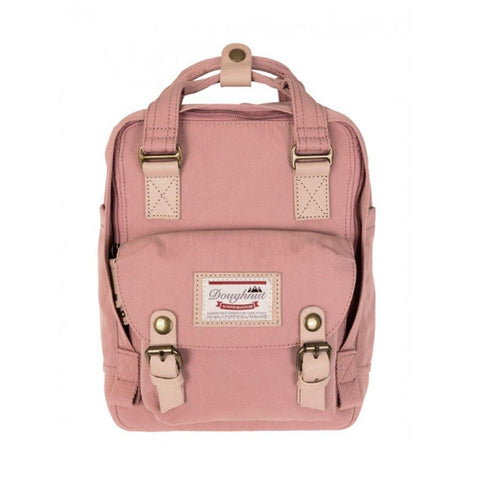 Doughnut Macaroon Mini Backpack - Rose