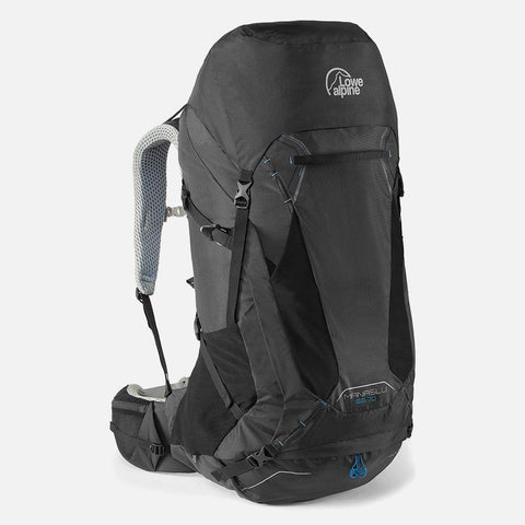 Lowe Alpine Manaslu 55:70 Hiking Backpack - Black