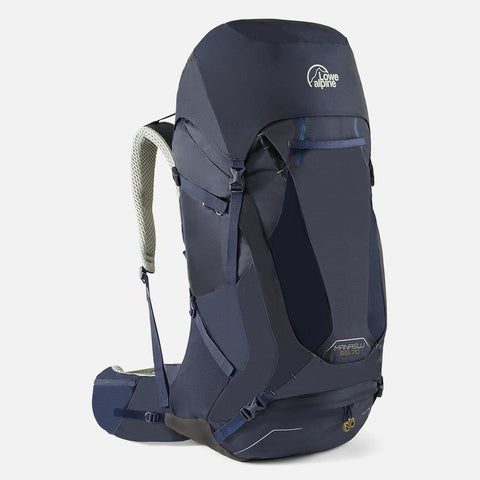 Lowe Alpine Manaslu 55:70 Hiking Backpack - Navy
