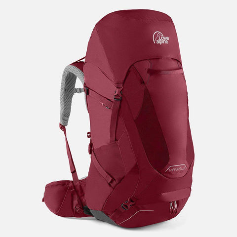 Lowe Alpine Manaslu ND50:65 Hiking Backpack - Raspberry