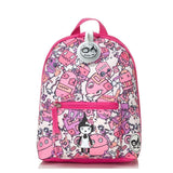 Babymel Mini Backpack & Safety Harness / Reins Age 1-4 Years - Robot Pink