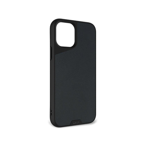 "Mous Limitless 3.0 Air Shock High Impact Material Case iPhone 12 Mini 5.4"" - Black Leather"
