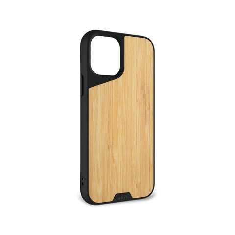 "Mous Limitless 3.0 Air Shock High Impact Material Case iPhone 12 Mini 5.4"" - Bamboo"