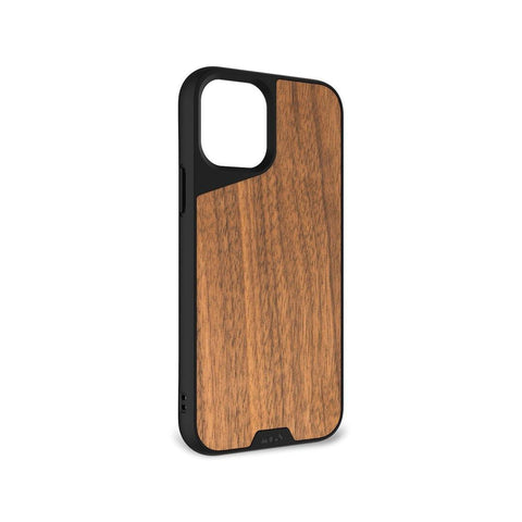 "Mous Limitless 3.0 Air Shock High Impact Material Case iPhone 12 Mini 5.4"" - Walnut"