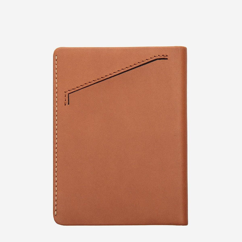 (Promo) Status Anxiety Men Leather Wallet Conquest - Camel - Oribags.com