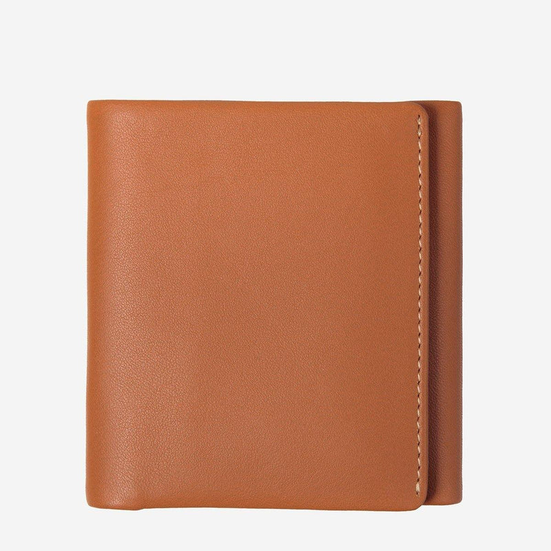 (Promo) Status Anxiety Men Leather Wallet Vincent - Camel - Oribags.com