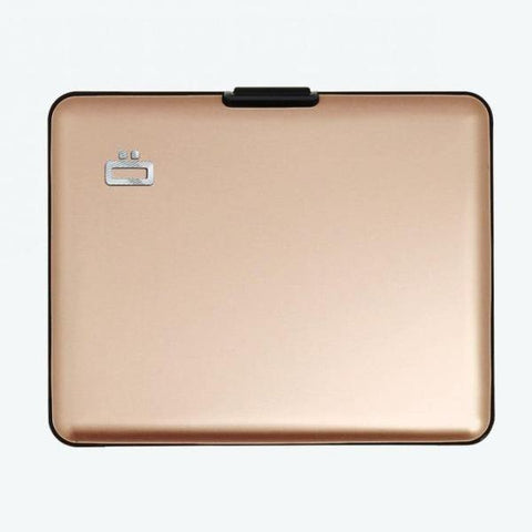 Ogon Big Stockholm Wallet RFID Safe - Rose Gold