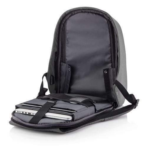 "XD Design Bobby Hero XL Anti-Theft Backpack ( Fits 17"" Laptop ) - Grey - Oribags.com"