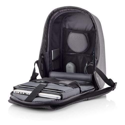 "XD Design Bobby Hero Small Anti-Theft backpack ( Fits 13"" Laptop ) - Grey - Oribags.com"