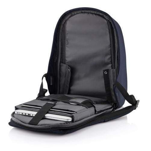 "XD Design Bobby Hero Regular Anti-Theft Backpack ( Fits 15"" Laptop ) - Navy - Oribags.com"