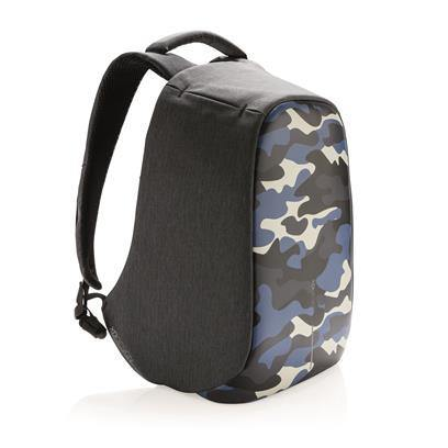 XD Design Bobby Compact Anti-Theft Backpack - Camouflage Blue