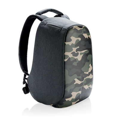 (Clearance) XD Design Bobby Compact Anti-Theft Backpack - Camouflage Green