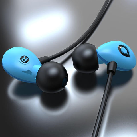 Accutone Pegasus C In-Ear Headset - Blue