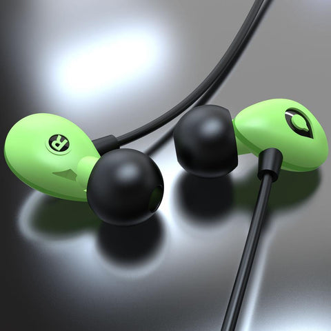 Accutone Pegasus C In-Ear Headset - Green