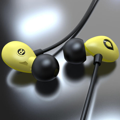 Accutone Pegasus C In-Ear Headset - Yellow
