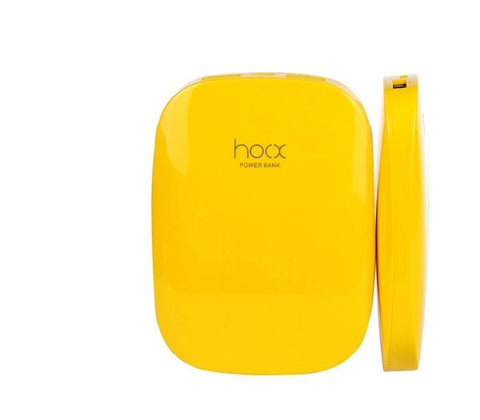 HOOX Magic Stone 6000maH Powerbank - Yellow
