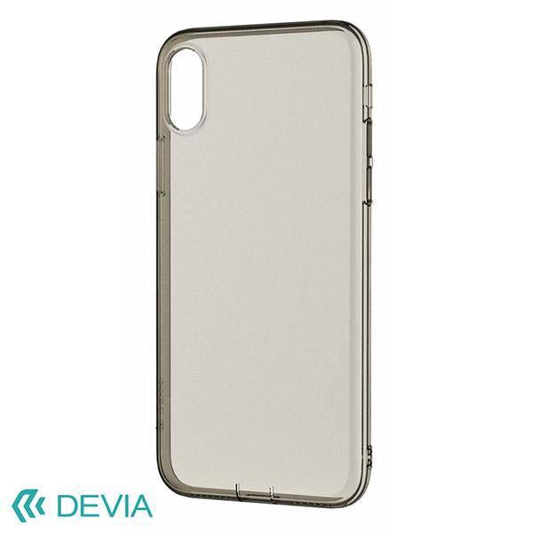 reputable site 6e8ad bae4b Devia Anti-Shock Soft Case for iPhone X - Clear Tea - Oribags.com