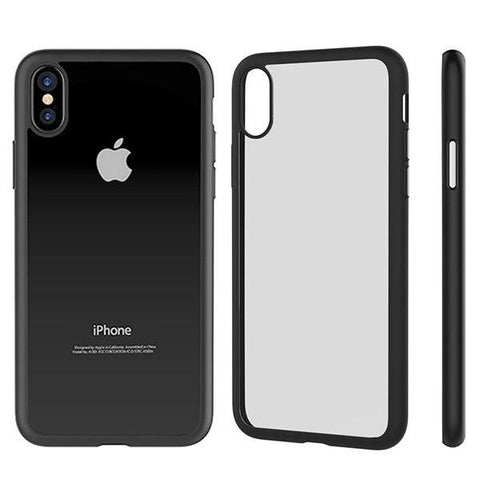 Devia Nobility Soft Case for iPhone X - Black