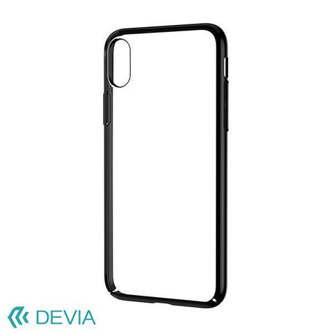 Devia Luxurious Glimmer Case for iPhone X - Black