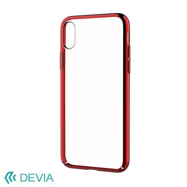 (Clearance) Devia Luxurious Glimmer Case for iPhone X - Red - Oribags.com