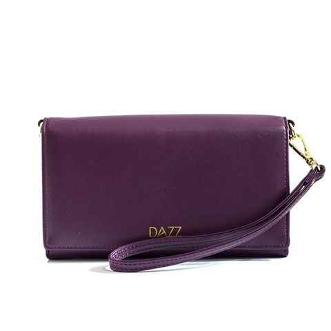 Dazz On The Go Crossbody Bag - Purple