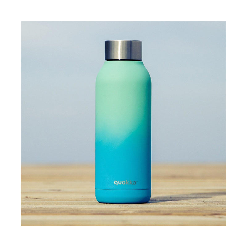 Quokka Stainless Steel Bottle Solid Series 510ml - Seafoam - Oribags.com