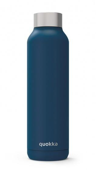 Quokka Stainless Steel Bottle Solid Series 630ml - Midnight Blue - Oribags.com
