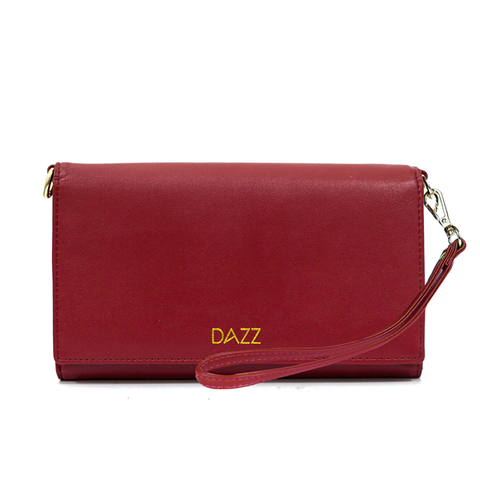 Dazz On The Go Crossbody Bag - Ruby Red