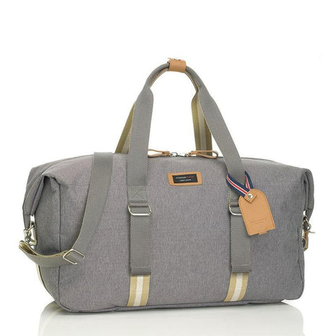 Storksak Travel Duffel Diaper Bag - Grey