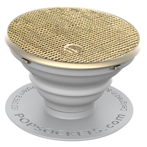 Popsockets Expanding Stand & Grip for Smartphones / Tablets - Saffiano Gold