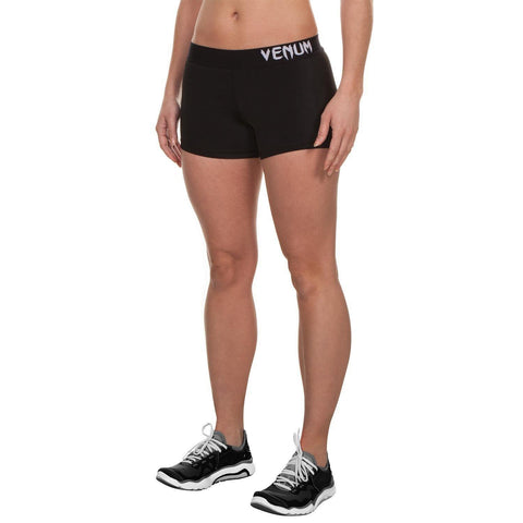 VENUM ESSENTIAL SHORT - BLACK - MMAoutfit - 1