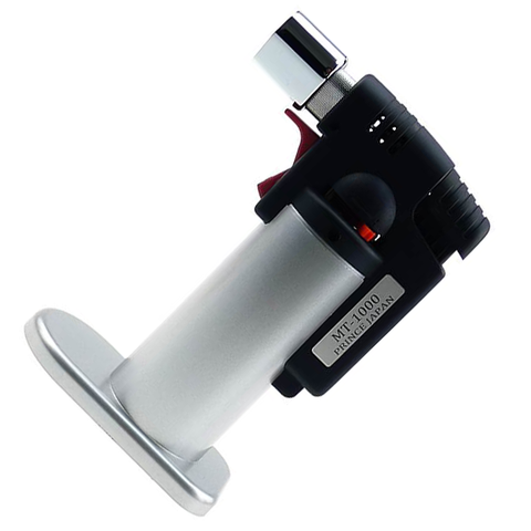 Prince MT100 Jet Flame Lighter - Silver