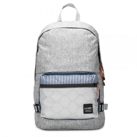 Pacsafe Slingsafe LX400 Anti-Theft Backpack - Tweed Grey - oribags2 - 1