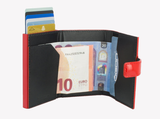 OGON Cascade Wallet Snap RFID Safe - Glossy Cherry