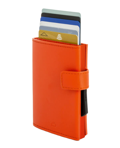 OGON Cascade Wallet Snap RFID Safe - Full Orange