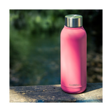 Quokka Stainless Steel Bottle Solid Series 510ml - Brink Pink