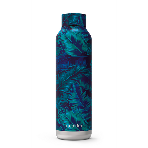 Quokka Stainless Steel Bottle Solid Series 630ml - Deep Jungle