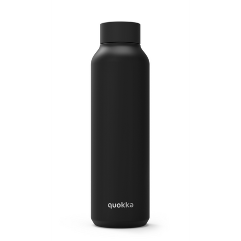 Quokka Stainless Steel Bottle Solid Series 630ml - Jet Black