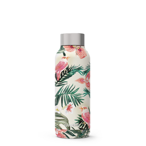 Quokka Stainless Steel Bottle Solid Series 510ml - Jungle Flora