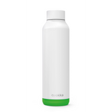 Quokka Stainless Steel Bottle Solid Series 630ml - Lime Vibe