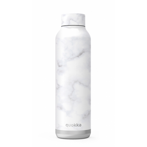 Quokka Stainless Steel Bottle Solid Series 630ml - Marble