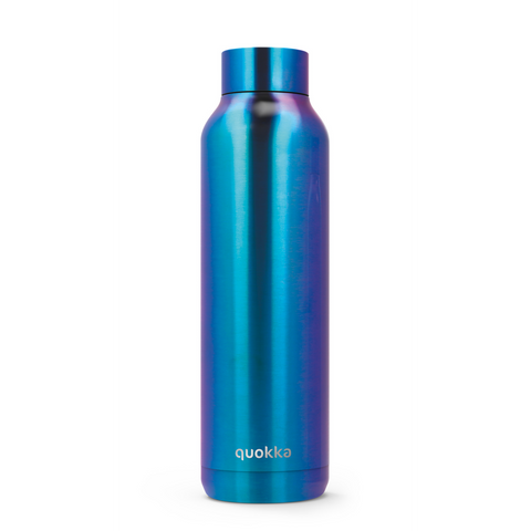 Quokka Stainless Steel Bottle Solid Series 630ml - Neo Chrome